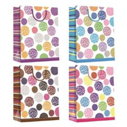 144 Units of Every Day Gift Bag Hot Stamping In Medium - Gift Bags Assorted