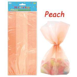 96 Units of Loot Bag Peach Twenty Count - Party Favors