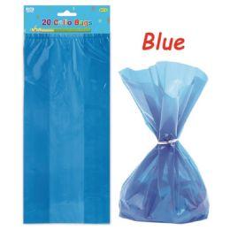 96 Units of Loot Bag Dark Blue Twenty Count - Party Favors