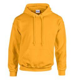 24 Units of Unisex Gildan Irregular Gold Heavy Blend Hoodie, Size Large - Mens Sweat Shirt