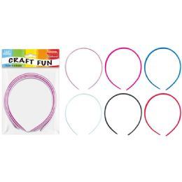 144 Units of Craft Headband - Craft Stems