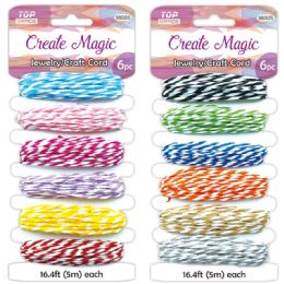 96 Units of Jewelry Craft Cord - Arts & Crafts