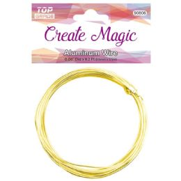 96 Units of Gold Wire - Arts & Crafts