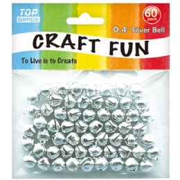 96 Units of Sixty Count Silver Bell - Arts & Crafts