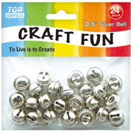 96 Units of Twenty Four Count Silver Bell - Arts & Crafts