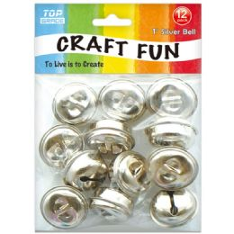 96 Units of Twelve Four Count Silver Bell - Arts & Crafts
