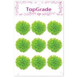96 Units of Foam Flower In Green - Arts & Crafts