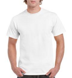 36 Units of Unisex Gildan White Cotton T-Shirt, Size Medium - Mens T-Shirts