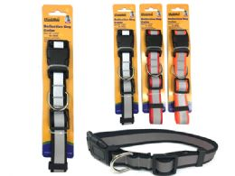 144 Units of Reflective Dog Collar - Pet Collars and Leashes