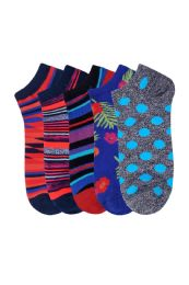 360 Units of Men's Fashion No Show Socks Size 10-13 - Mens Ankle Sock
