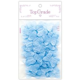 96 Units of Butterfly Petal Baby Blue - Arts & Crafts