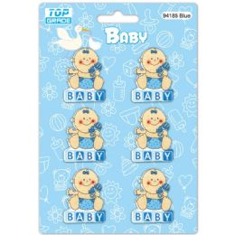 96 Units of Wooden Decoration Baby - Baby Shower