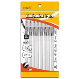 96 Units of Ballpoint Pen Black - Pens