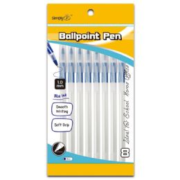96 Units of Ballpoint Pen Blue - Pens