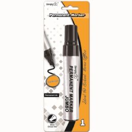 96 Units of Jumbo Permanent Marker - Markers and Highlighters