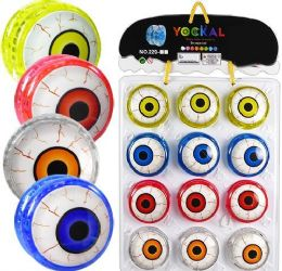 120 Units of Light Up Eyeball YO-Yos - Toys & Games