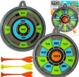 12 Units of 2-IN-1 Magnetic Dart Board Sets - Darts & Archery Sets