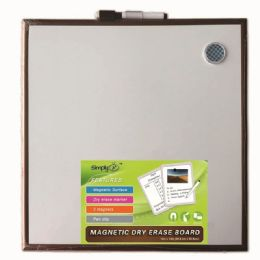 24 Units of Magnetic Dry Erase Board With Marker - Dry erase