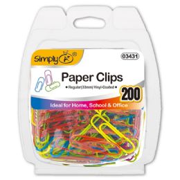 96 Units of Color Paper Clip - Paper clips