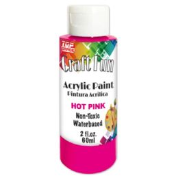 144 Units of Acrylic Paint Hot Pink - Paint, Brushes & Finger Paint