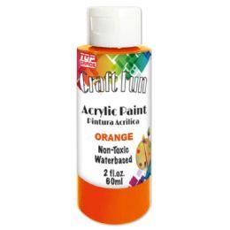 144 Units of Acrylic Paint Orange - Paint, Brushes & Finger Paint