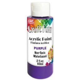 144 Units of Acrylic Paint Purple - Paint, Brushes & Finger Paint