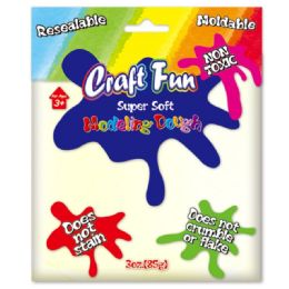96 Units of Modeling Dough Beige - Clay & Play Dough