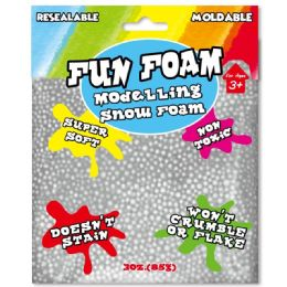 96 Units of Modeling Foam Snow Grey - Clay & Play Dough