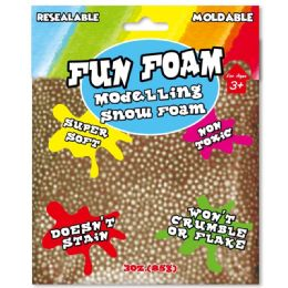 96 Units of Modeling Foam Snow Coffee - Clay & Play Dough