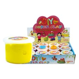 96 Units of Super Clay Assorted Color - Clay & Play Dough