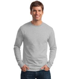 36 Units of Men's Fruit Of the Loom Sport Grey Long Sleeve T-Shirts, Size Large - Mens T-Shirts