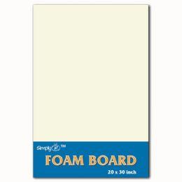 50 Units of Foam Board In White - Poster & Foam Boards