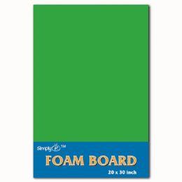 50 Units of Foam Board In Green - Poster & Foam Boards