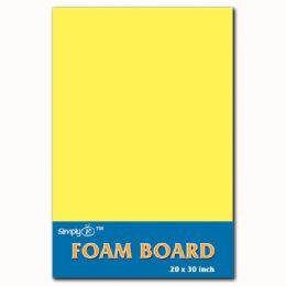 50 Units of Foam Board In Yellow - Poster & Foam Boards