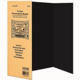 24 Units of Black Tri Board - Poster & Foam Boards