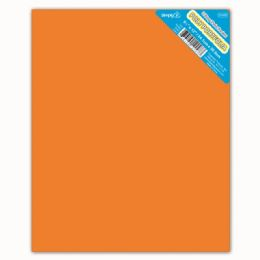 120 Units of Two Pockets Poly Portfolio Solid Color Orange - Folders and Report Covers
