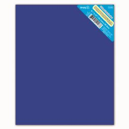 120 Units of Two Pockets Poly Portfolio Solid Color Blue - Folders and Report Covers