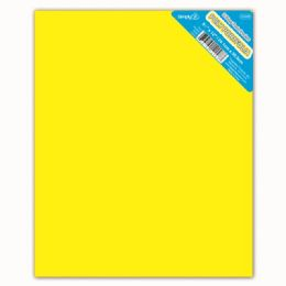 120 Units of Two Pockets Poly Portfolio Solid Color Yellow - Folders and Report Covers