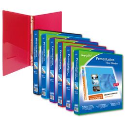 72 Units of One Inch Presentation Binder - Clipboards and Binders
