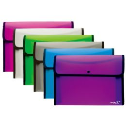 96 Units of Square Flap Letter Size Document Holder - File Folders & Wallets