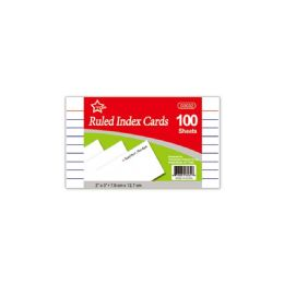 96 Units of Index Card Hundred Count - Labels ,Cards and Index Cards