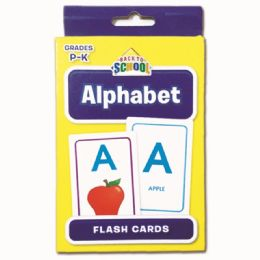 96 Units of Alphabet Flash Cards - Classroom Learning Aids
