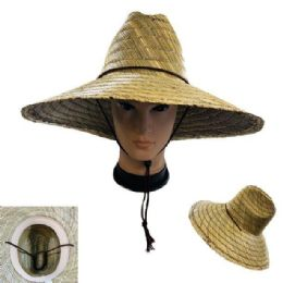 24 Units of Straw Hat With Large Brim - Sun Hats