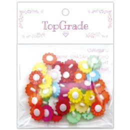 96 Units of Button Flower - Sewing Supplies
