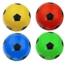 48 Units of 12 Inch Assorted Color Soccer Ball - Balls