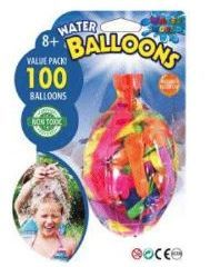 24 Units of 100 Piece Water Balloons - Water Balloons