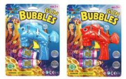 36 Units of Fish Gun Bubbles With 2 Refill - Water Balloons
