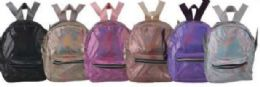 10 Units of Shiny Back Pack - Backpacks