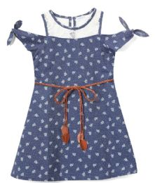 6 Units of Girls' Navy Jean Dress in Size 7-14 - Girls Dresses and Romper Sets