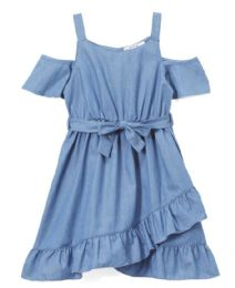 6 Units of Girls' Denim Dress in Size 4-6X - Girls Dresses and Romper Sets